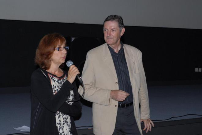 Mme Catherine Pie Burgues Adjointe et Bernard Gaillard